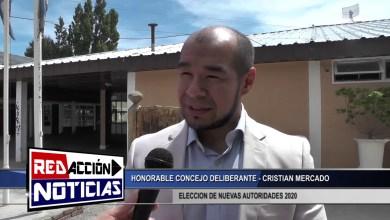 Photo of Redacción Noticias |  ELECCION DE AUTORIDADES 2020 – CRISTIAN MERCADO – HCD – LAS HERAS SANTA CRUZ