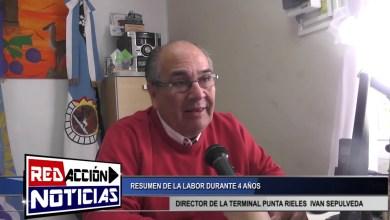 Photo of Redacción Noticias    IVAN SEPULVEDA – DIRECTOR DE LA TERMINAL «PUNTA RIELES» – LAS HERAS SANTA CRUZ