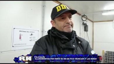 Photo of Redacción Noticias |  DDI Allanamiento Las Heras y Pico Truncado