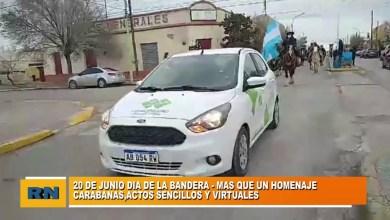 Photo of Redacción Noticias |  Así se conmemoro el 20 de Junio «Día de la bandera» en Las Heras
