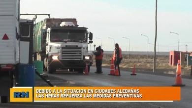 Photo of Redacción Noticias |  Refuerzan entradas y salidas de Las Heras por la situacion de ciudades vecinas