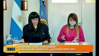 Photo of Redacción Noticias    HCD Las Heras Santa Cruz: Tratamiento de la carta orgánica entre otros puntos