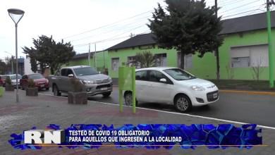 Photo of Redacción Noticias    Testeo OBLIGATORIO COVID-19 en la Localidad – Las Heras Santa Cruz