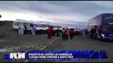 Photo of Redacción Noticias |  OPERATIVO DE CONTROL EN TERMINAL   DE CORDOBA A SANTA CRUZ