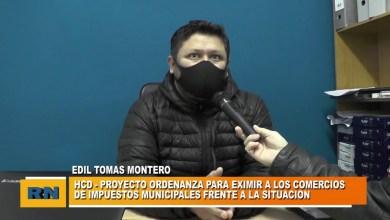 Photo of Redacción Noticias    Concejal Montero – Proyecto para eximir a los comercios de impuestos municipales en esta pandemia