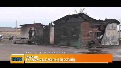 Photo of Redacción Noticias |  INCENDIO Pista de Atletismo 5 de Octubre -Las Heras Santa Cruz.