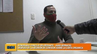 Photo of Redacción Noticias |  Concejal Jairo Bernacki – Carta Orgánica para Las Heras