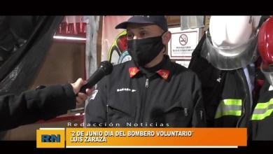 Photo of Redacción Noticias    DÍA del Bombero VOLUNTARIO. LUIS ZARAZA – Las Heras Santa Cruz