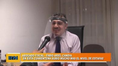 Photo of Redacción Noticias |  Fiscal Ariel Candia – Recibimiento de constantes denuncias de estafas telefónicas en plena pandemia