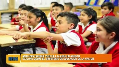 Photo of Redacción Noticias    VUELTA A CLASES EN AGOSTO?