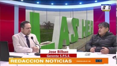 Photo of Redacción Noticias |  Jose Bilbao (SPSE) Todo sobre los trabajos en el Barrio Calafate y Las Américas