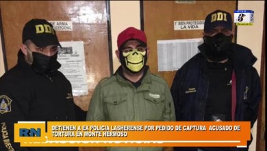 Photo of Redacción Noticias    Detienen a ex policía Lasherense por pedido de captura acusado de torturas en Monte Hermoso