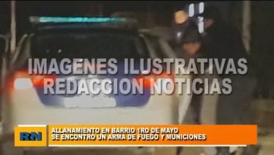 Photo of Redacción Noticias |  ALLANAMIENTO EN BARRIO 1° DE MAYO