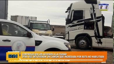 Photo of Redacción Noticias |  Otro camión de Comodoro detenido por ingresar por rutas no habilitadas en los Perales