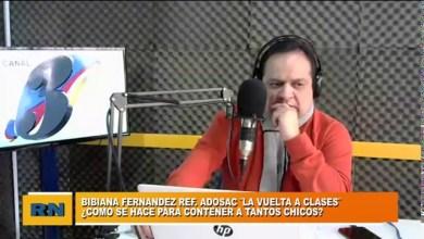 Photo of Redacción Noticias    Bibiana Fernandez (ADOSAC) – Lo que tenemos que tener en cuenta en una posible vuelta a clases