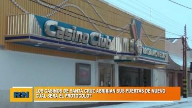 Photo of Redacción Noticias |  Los casinos de Santa Cruz abrirán nuevamente sus puertas – ¿Cual sera su protocolo?