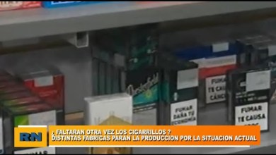 Photo of Redacción Noticias |  ¿Faltaran nuevamente los CIGARRILLOS? Algunas fabricas paran sus producciones
