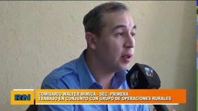 Photo of Redacción Noticias |  Comisario Mimica – Sec. Primera – Trabajos en conjunto con grupo de operaciones rurales – Parte 1