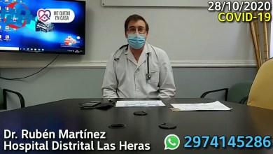 Photo of Redacción Noticias |  Parte semanal de salud de Las Heras – Dr Martinez