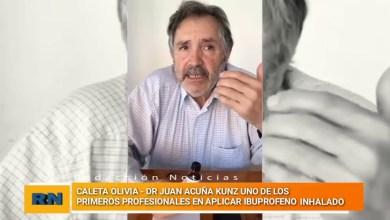 Photo of Redacción Noticias |  En Caleta Olivia ya se esta probando el ibuprofeno inhalado