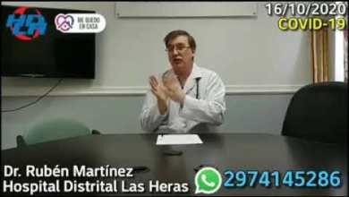Photo of Redacción Noticias |  Parte de Salud desde el Hospital distrital Las Heras – Dr Martinez
