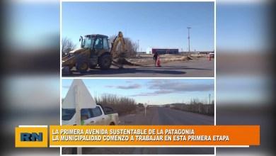 Photo of Redacción Noticias |  La Municipalidad de Las Heras comenzó a trabajar en la primera avenida sustentable de la Patagonia