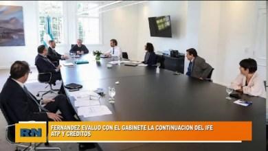 Photo of Redacción Noticias |  Alberto Fernandez evaluó con el gabinete la continuidad del IFE,, ATP y otros créditos