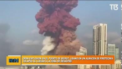 Photo of Redacción Noticias |  Gran explosión en el Puerto de Beirut en el Libano dentro de un almacén de pirotecnia