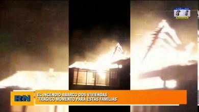Photo of Redacción Noticias |  Voraz incendio abarco dos viviendas en el Barrio Las Américas – No hubo heridos