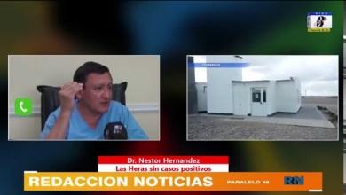 Photo of Redacción Noticias |  El Dr Nestor Hernandez dio explicaciones sobre lo que paso con el caso sospechoso en Las Heras