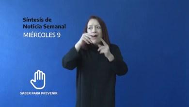 Photo of Redacción Noticias |  Resumen semanal provincial con lenguaje de señas