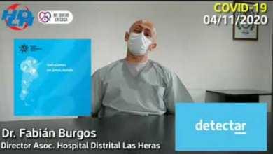 Photo of Redacción Noticias |  Fabian Burgos director asoc. del Hospital Las Heras – De que se trata el plan «Detectar»