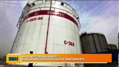 Photo of Redacción Noticias |  Clausuran preventivamente a Sinopec por falta de mantenimiento