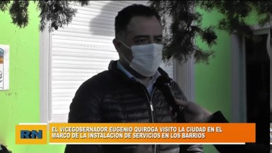Photo of Redacción Noticias |  El vicegobernador visito la ciudad de Las Heras en el marco de la puesta de servicios en los barrios