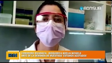 Photo of Redacción Noticias |  «ESTAMOS AGOTADOS» – Palabra de una bioquímica de Comodoro ante la demanda de muestras de Covid-19
