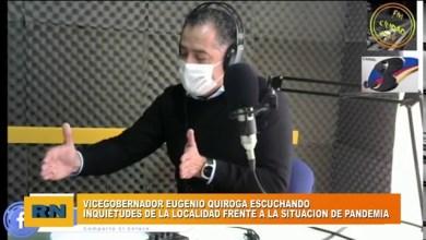 Photo of Redacción Noticias |  Quiroga: «Escuchamos las inquietudes de la localidad frente a la situación de la pandemia