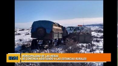 Photo of Redacción Noticias |  El municipio de Las Heras continua asistiendo a las estancia rurales de la zona