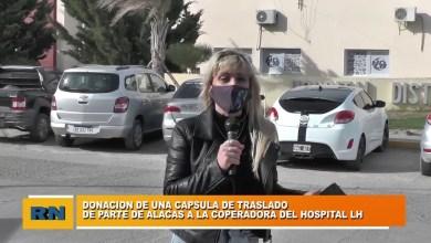 Photo of Redacción Noticias |  Donación de una capsula de traslado para el Hospital de Las Heras por parte de A.L.A.C.A.S.