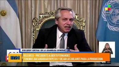 Photo of Redacción Noticias |  Alberto Fernandez: «Tenemos que ahorrar en pesos y dejar los dólares para la producción»
