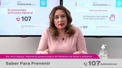 Photo of Redacción Noticias |  Parte de salud de Santa Cruz «Saber para prevenir»