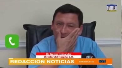 Photo of Redacción Noticias |  El director del Hospital Hernandez aclara las situaciones sucedidas este fin de semana en Las Heras