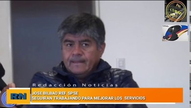 Photo of Redacción Noticias |  Jose Bilbao – SPSE – «Seguimos trabajando para mejorar los servicios de nuestra ciudad»