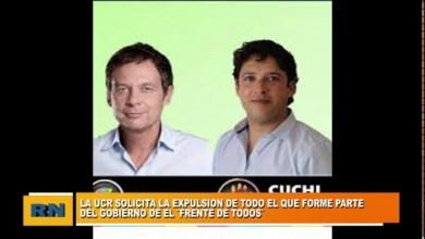 Photo of Redacción Noticias |  La UCR solicita la expulsión de todo aquel que forme parte del gobierno del «Frente de Todos»