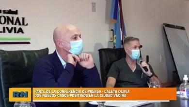 Photo of Redacción Noticias |  Dos casos nuevos en Caleta Olivia – Conferencia de prensa del COE de la ciudad