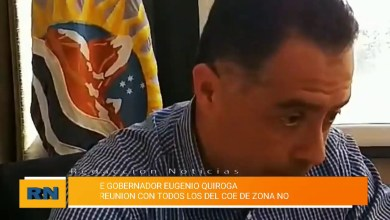 Photo of Redacción Noticias |  El vicegobernador Quiroga se reunió con todos los COE de zona Norte de la provincia de Santa Cruz