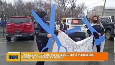 Photo of Redacción Noticias |  Rio Gallegos: Marcha por la reapertura de peluquerías, barberías y centro de estéticas