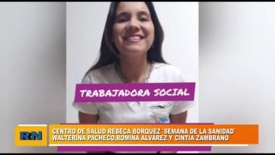 Photo of Redacción Noticias |  Integrantes del centro de salud «Rebeca Borquez» se refieren al trabajo en «La semana de salud»