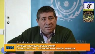 Photo of Redacción Noticias |  CPE – Vicepresidente Ismael Enrique – Clases en pandemia periodo 2020-2021