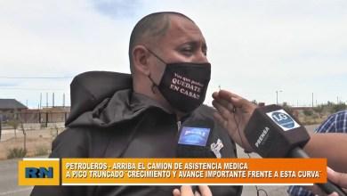 Photo of Redacción Noticias |  La gran espera del camión sanitario por parte del gremio de petroleros.