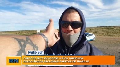 Photo of Redacción Noticias |  Corte de ruta en Pico Truncado por parte de desocupados de esa loacalidad